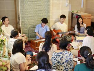 【レポート】Krishna Jayanti by Heart Gathering*・レイクサイドヨガナイトwithMusic・山水人