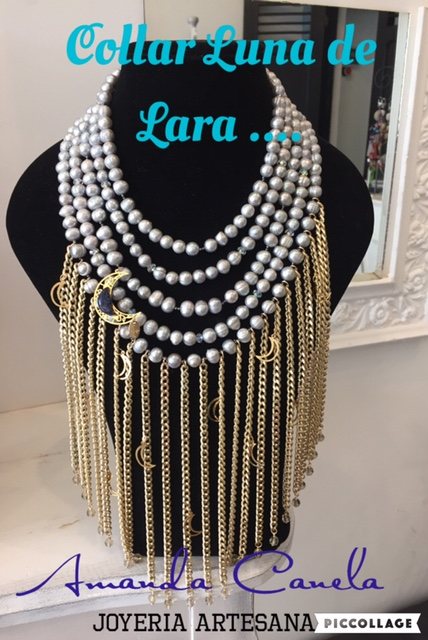 Collar Lunas de Lara - Amanda Canela