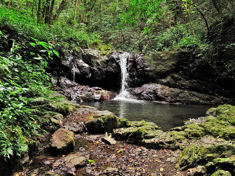 Cascada pequeña antes de la Cascada de Charco Prieto