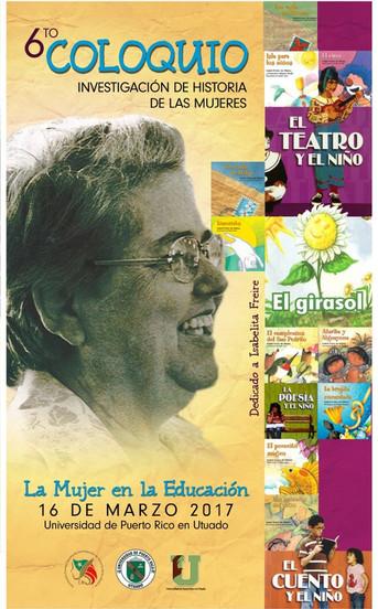 Coloquio de investigación histórica: La mujer en la educación