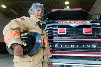 Evie Maldonado: bombera pionera