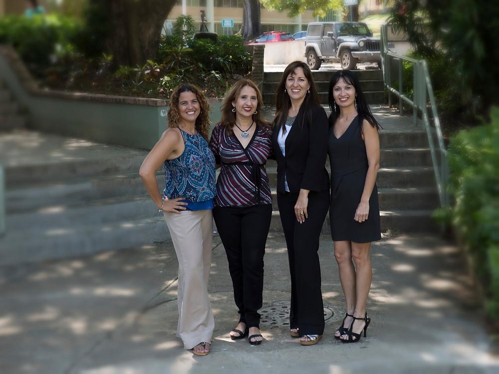 Rosita, Nancy, Lourdes e Ivette