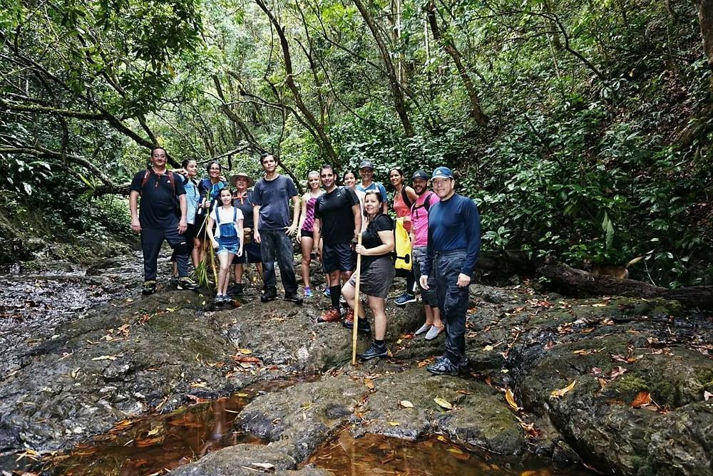 Dos años después en Cascada de Charco Prieto con nuevos amigos