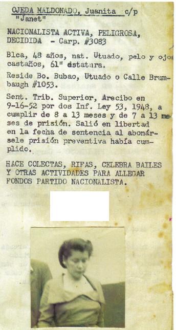 Juanita Ojeda: Una vida de convicción olvidada en la historia