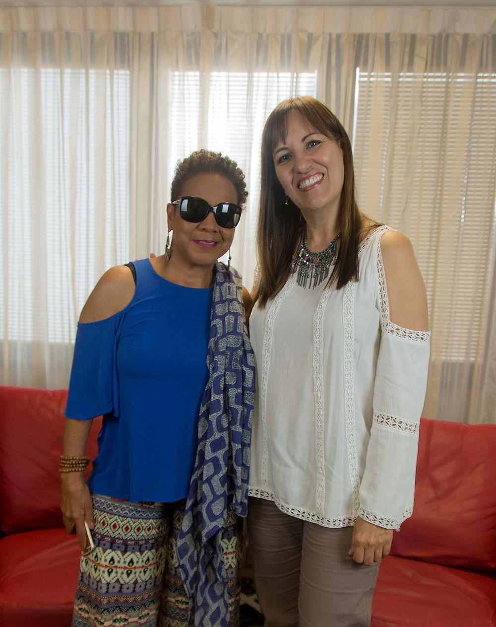 Lourdes y Choco