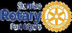 Sunrise Rotary logo