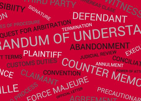 Legal jargon in spain