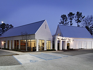 How a Law Firm's Office Bridges the Gap between Traditional and Modern in the South
