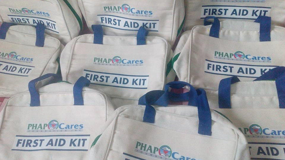 First aid kit (canvas)