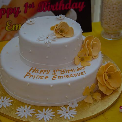 Emmanuel's 1st Birthday