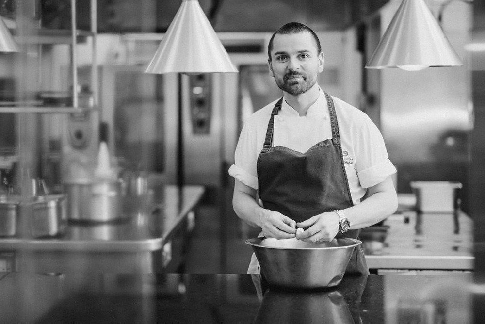 Brian Grigor is one of seven top chefs who will be taking part at fine dining festival Signature at The Chester Hotel in Aberdeen.