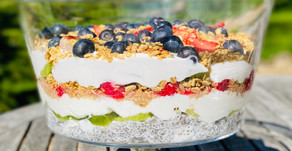 Recipe: Gut-Friendly Summer Fruit Trifle
