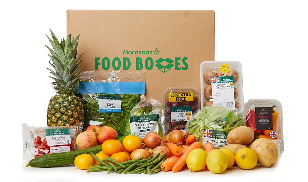 Morrisons Food Boxes