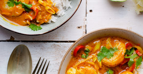 Recipe: King Prawn and Spicy Maple Coconut Curry