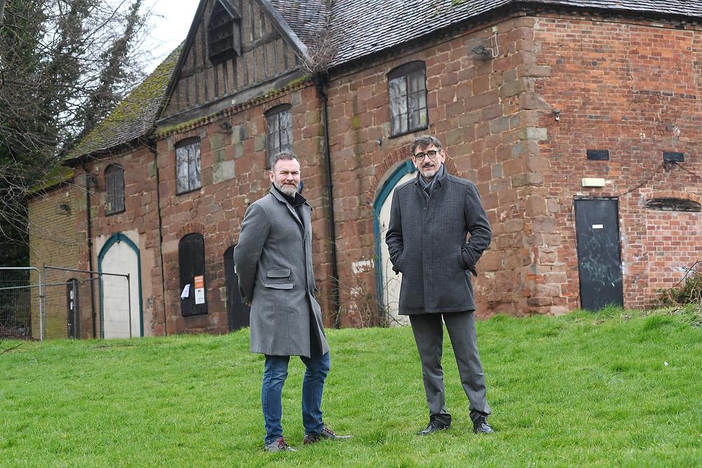 Glynn Purnell and Ian Harrabin at The Charterhouse, Coventry.jpg