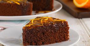 Recipe:  Chocolate Orange and Polenta Cake