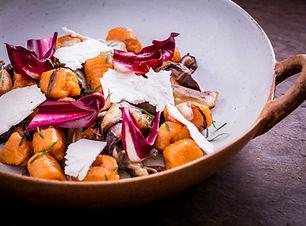 Danilo Sweet potato Gnocchi with Radicch