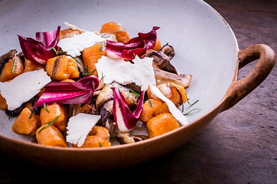 Danilo Sweet potato Gnocchi with Radicch
