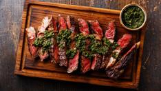 Christian Stevenson's Sharing Steak & Next Level Salsa Verde recipe