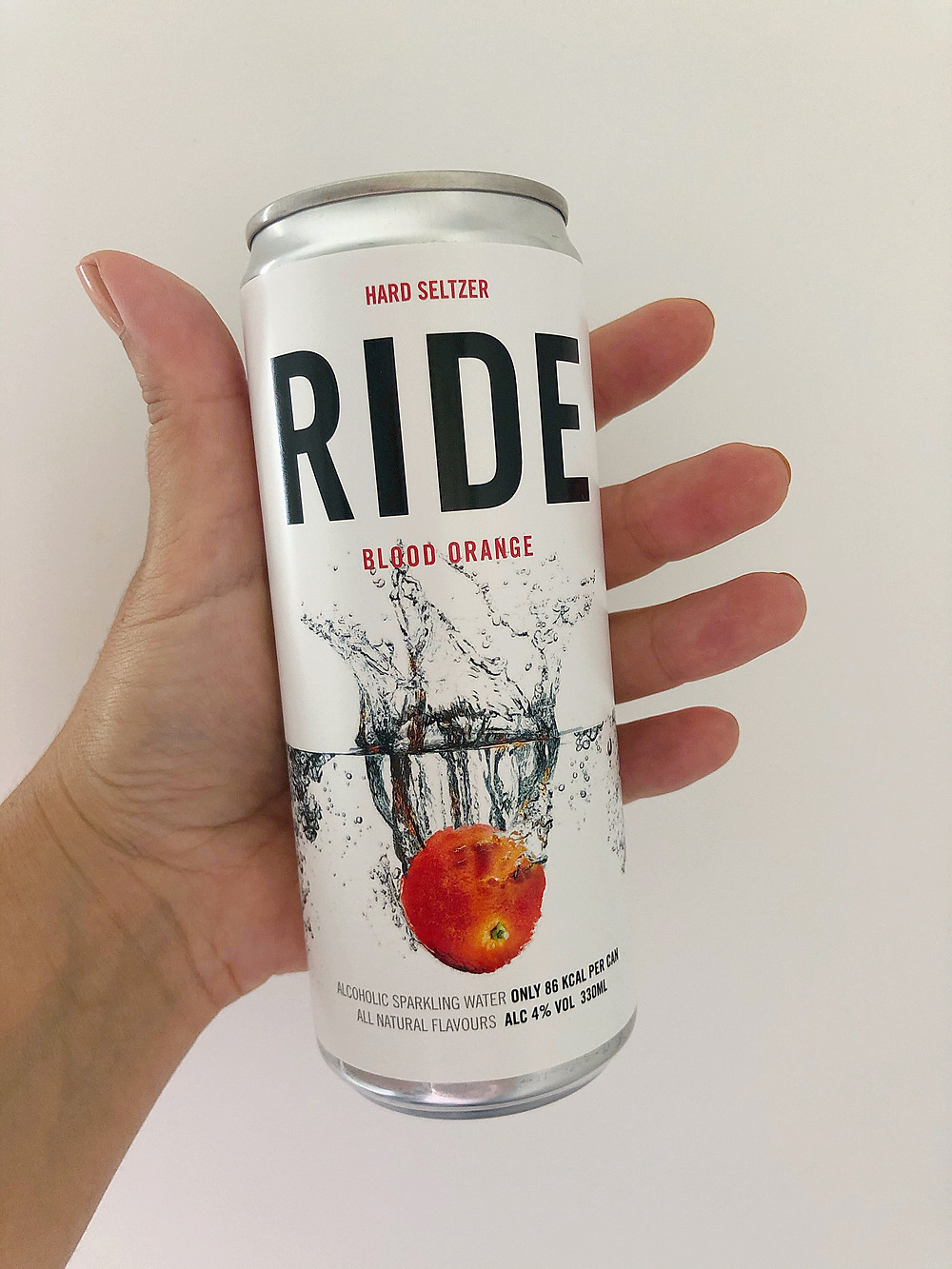 Ride Hard Seltzer Blood Orange Allensdale Brewery