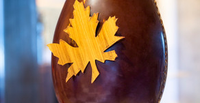 Recipe: William Curley's Maple Filled Easter Egg