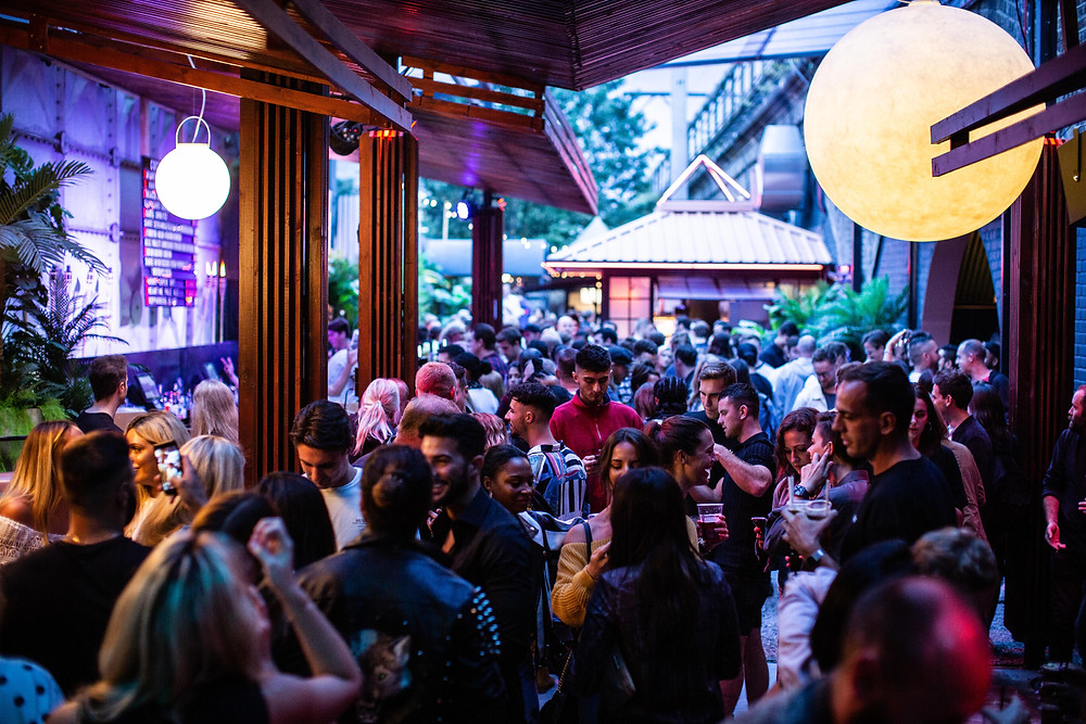 Night Tales launch summer terrace with three day opening party