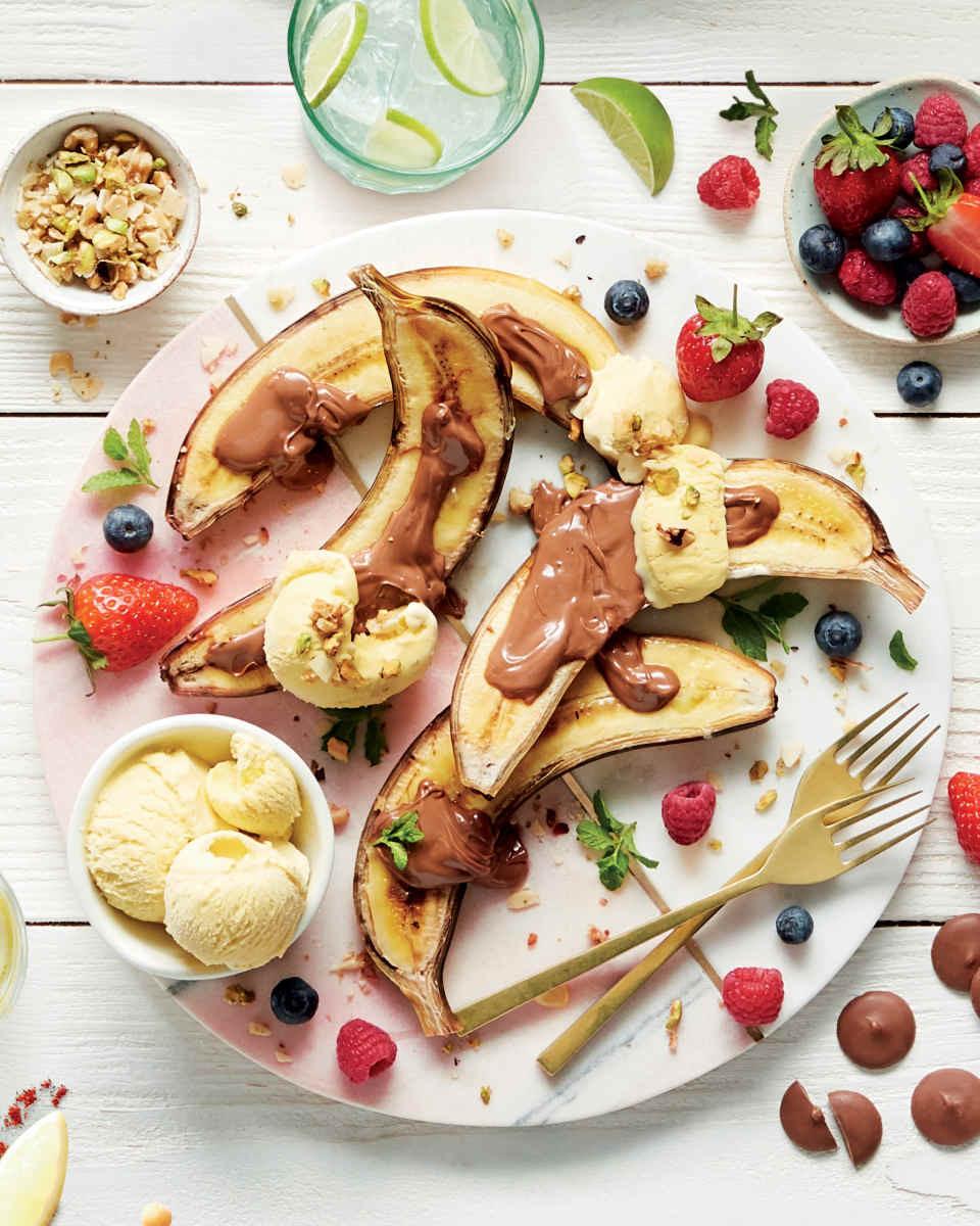 banana split recipes