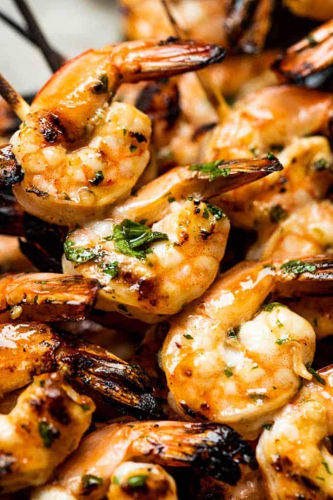 Zesty Grilled Shrimp