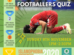 Ealing Outreach celebrate Islamophobia Awareness Month with online quizzes..