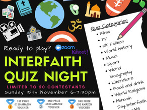 Ealing Outreach quiz on 15th November