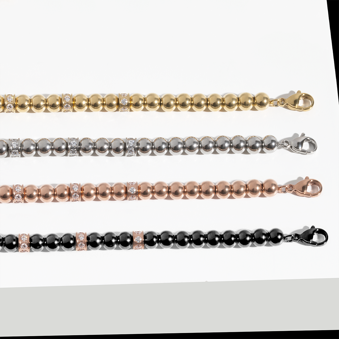 stainless-steel-bracelets-beads-cz-stones-black-rosegold-gold-mia-T217B003