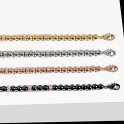 stainless-steel-bracelets-beads-cz-stones-black-rosegold-gold-mia-T217B003