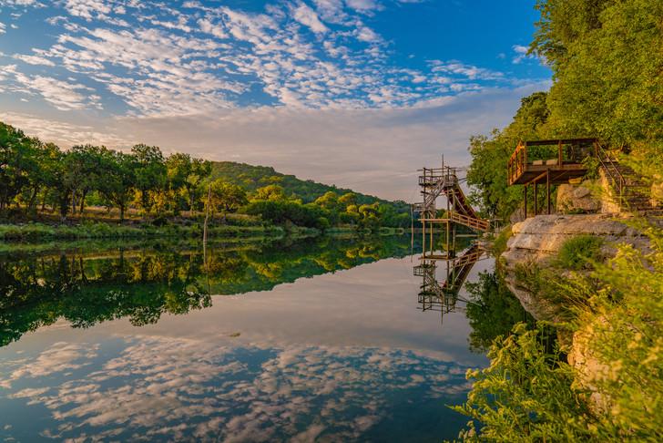 Camp Eagle Landscape Scene