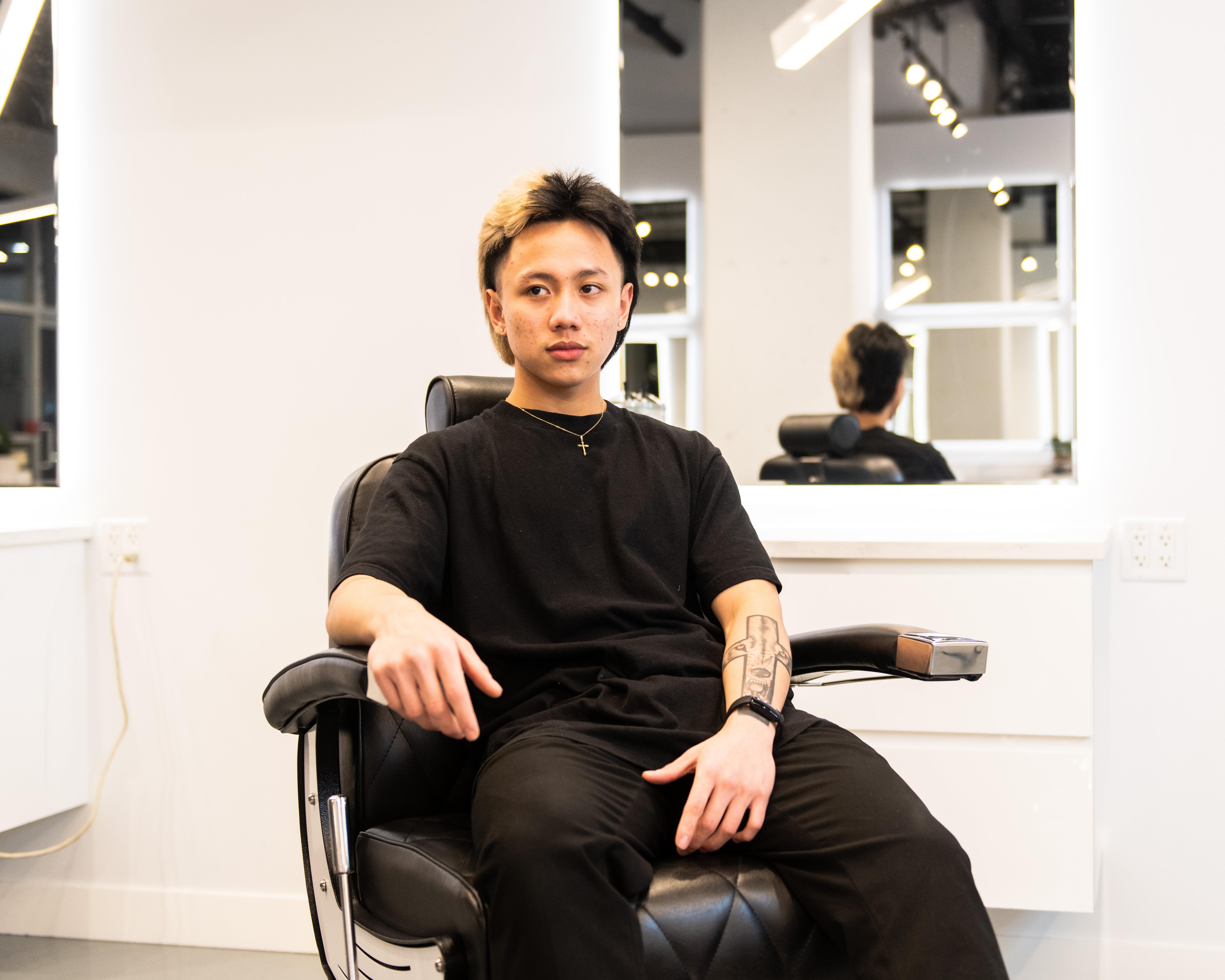 Haircut / Dry Beard Work / Eyebrows