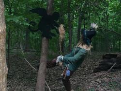 Scarecrow and Flying Monkey