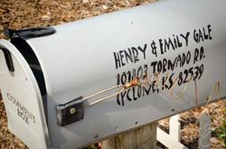 2016 Oz Fest mailbox