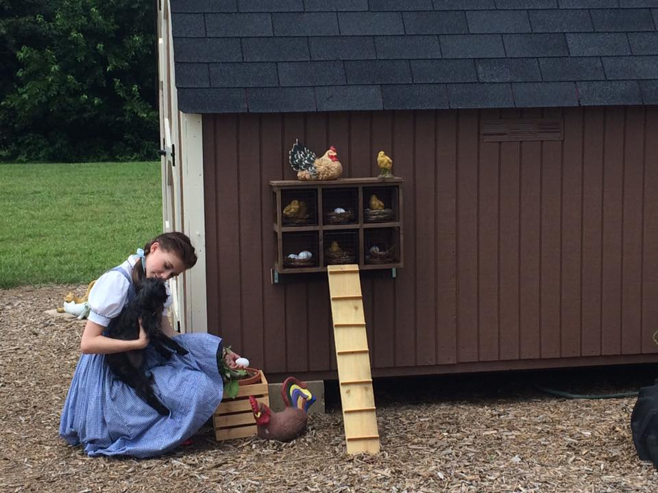 Dorothy at the Farm