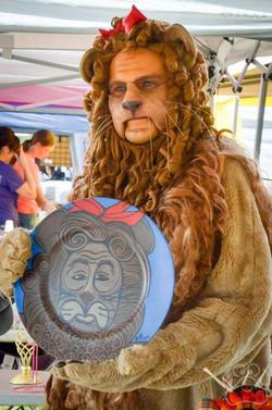 2016 Oz Fest Lion in Vendor area