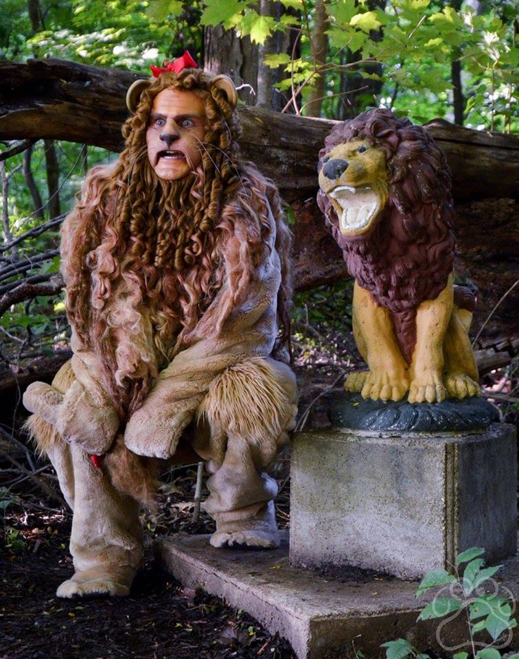 2016 Oz Fest Lion with the Lion