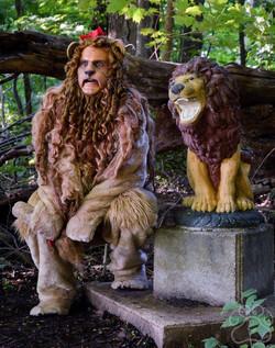 2016 Oz Fest Lion with the Lion