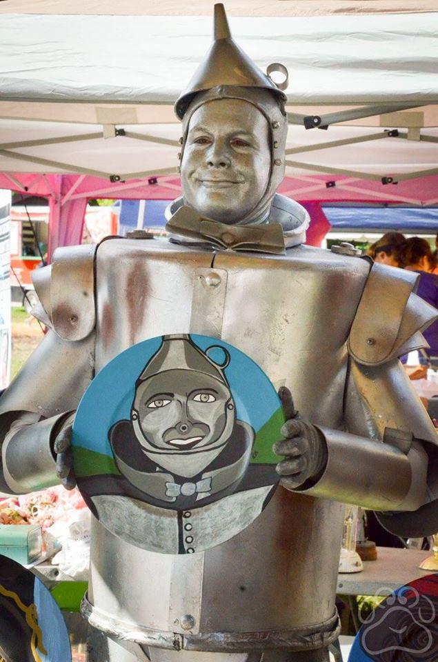 2016 Oz Fest Tinman in Vendor area