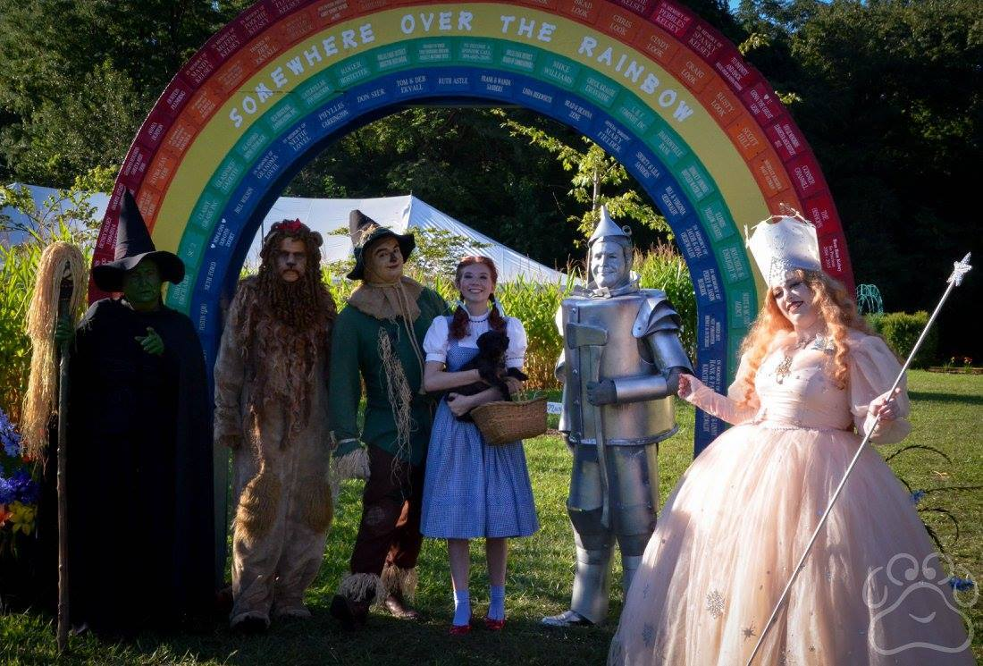 2016 Oz Fest Characters at the Rainbow