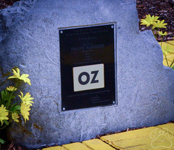 2016 Oz Fest stone for Frank Baum