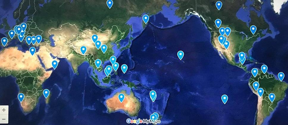 リオやヴェネチアの世界規模のカーニバルや、神秘的なマヤやインドの祭典など、各国の伝統や文化に触れる体験やサブカル的なお祭りを地図にまとめました。クリックするとグーグルマップで確認できます。