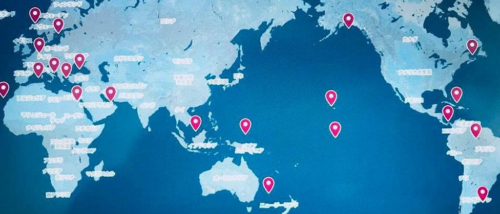 人気のカリブ海やエーゲ海クルーズや、北極圏や南極クルーズなど壮大なスケールの船旅の出港地を地図にまとめました。クリックするとグーグルマップで確認できます。