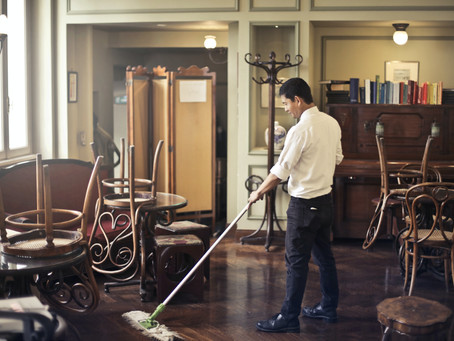Hands Up Who Loves Cleaning....