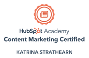 Content Marketin Certification Badge