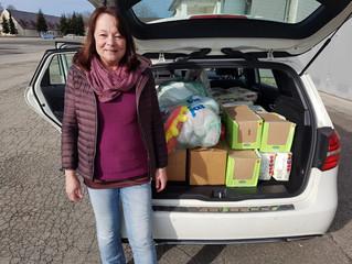 Erneute Spendenaktion für Helferkreis Ismaning