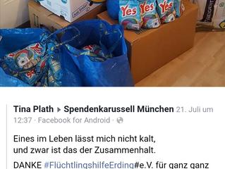 """""""Zusammenhalt"""" Spendenkarusell München"""