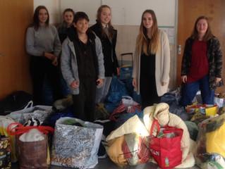 Spendenaktion Mittelschule Erding am Lodererplatz